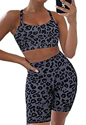 Cute Leopard Print Workout Outfit