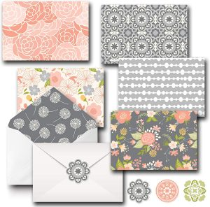 All Occasion Assorted Floral Blank Note Cards Greeting Card