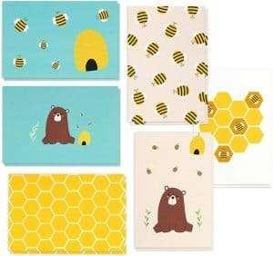 honey bear greeting cards