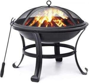 kingso fire put bbq grill