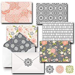 Floral Printed Stationary