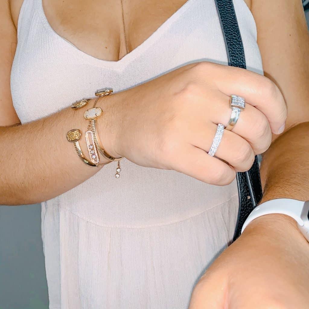 Jenna Haith Shop My Style kendra scott bracelets