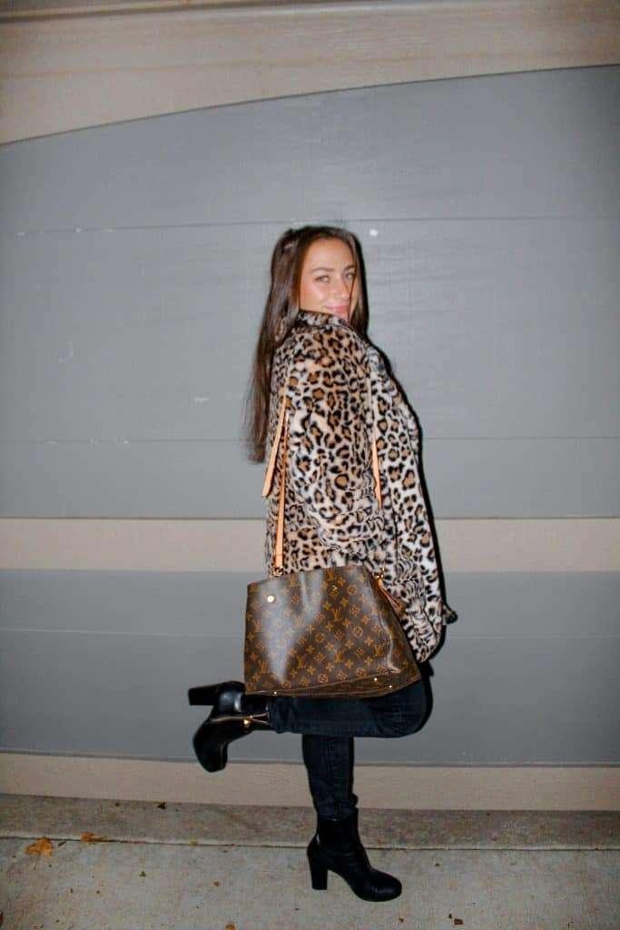 Jenna Haith Shop My Style cheetah jacket