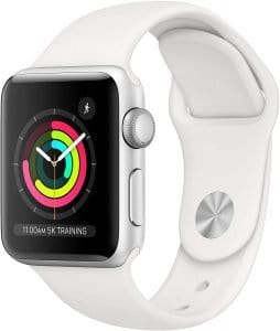 white apple watch series 3