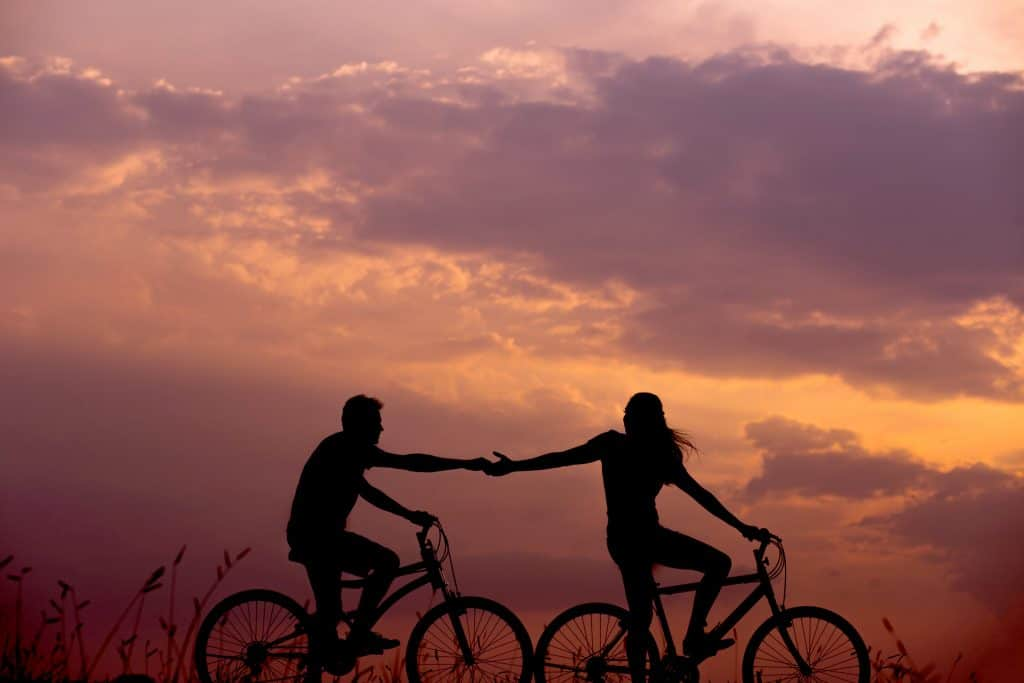 go on a bike ride for a date