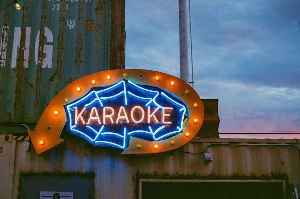 Karaoke date night idea