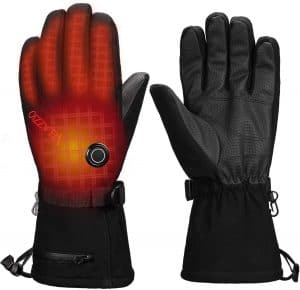 water proof gloves perfect for skiing