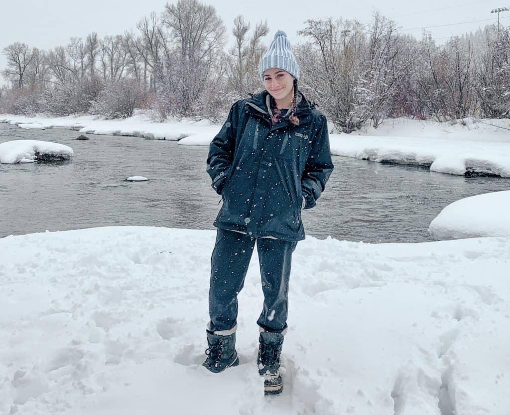 water proof ski jacket