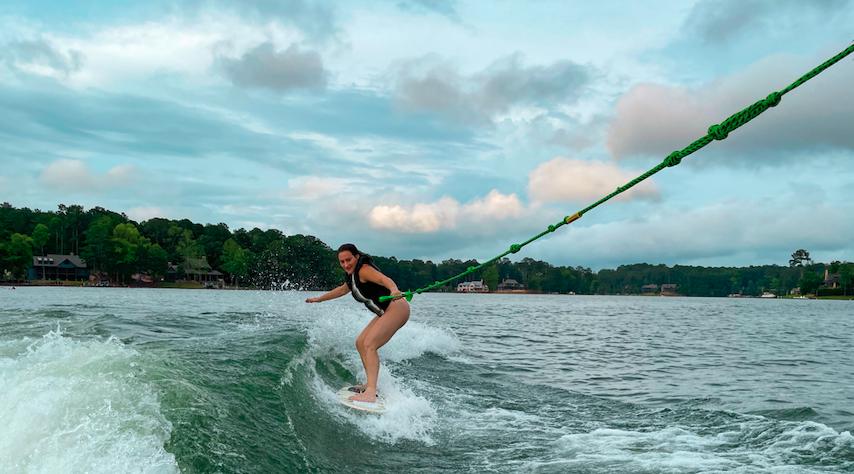 lake martin alabama surfing
